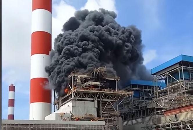Đã tìm được nguyên nhân cháy tại Nhà máy Nhiệt điện Duyên Hải 3
