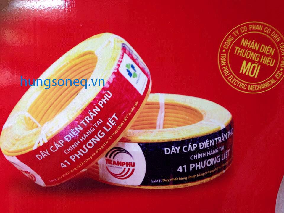 Dây điện đôi mềm Trần Phú 2x4,0