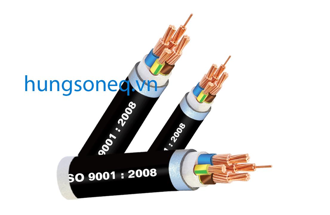 Cáp đồng ngầm 3x300+1x185 CU/XLPE/PVC/DSTA/PVC Cadisun