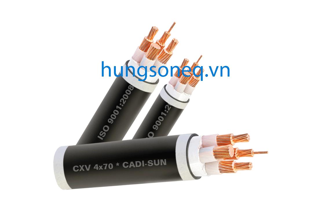 Dây cáp điện Cadisun, cáp đồng treo 4x300 CU/XLPE/PVC