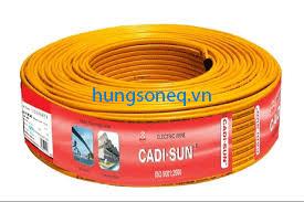 Dây điện Cadisun đôi mềm VCTFK 2x1.5 (200m/cuộn)