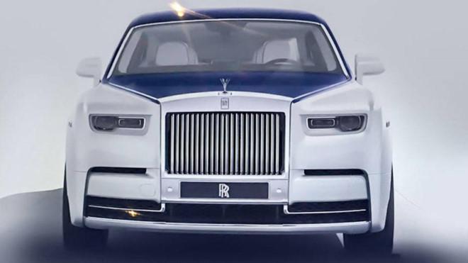 Lộ ảnh thực tế về Rolls-Royce Phantom thế hệ mới
