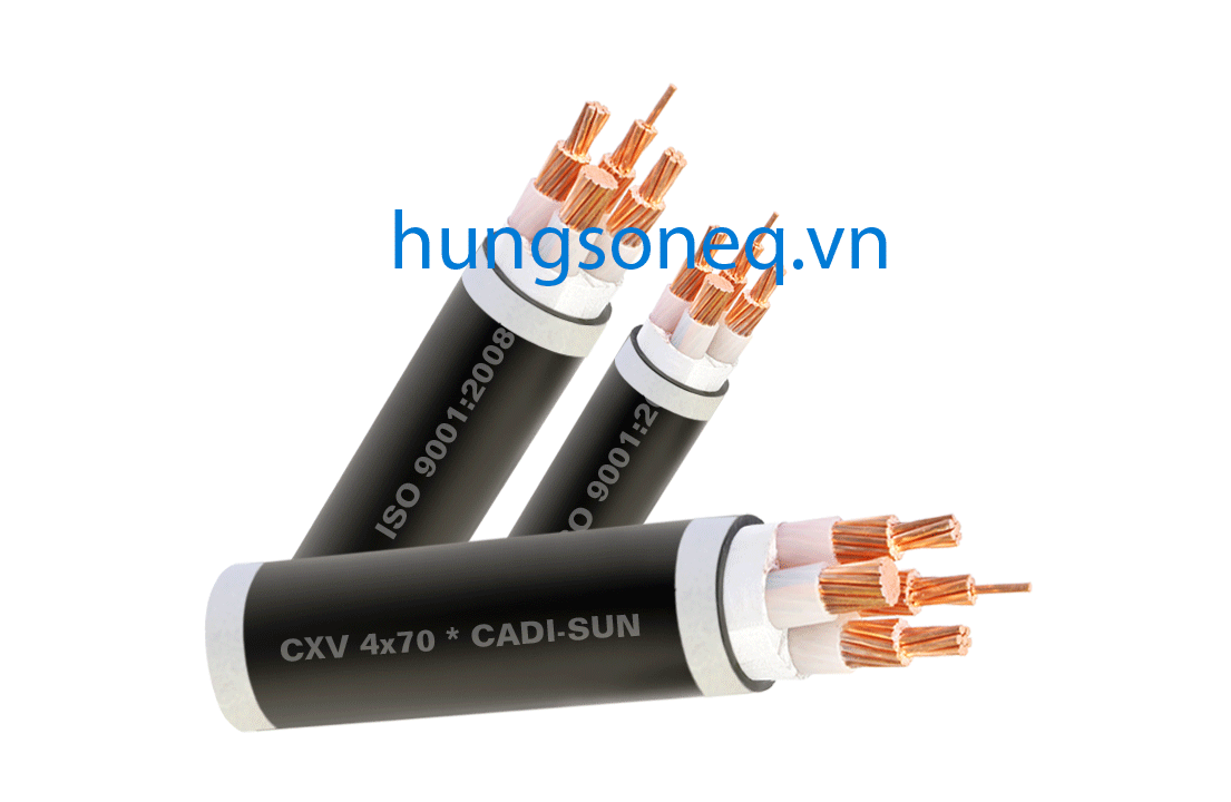 Dây cáp điện Cadisun, cáp đồng treo 4x50 CU/XLPE/PVC