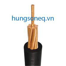 Cáp đồng treo 1x25 CU/PVC