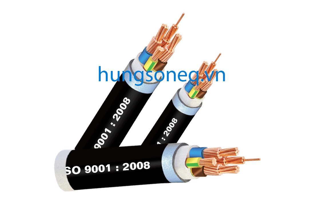 Cáp đồng ngầm 3x300+1x185 CU/XLPE/PVC/DSTA/PVC