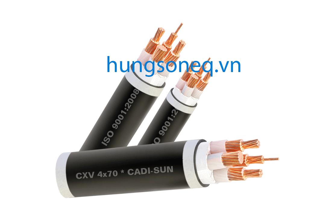 Dây cáp điện Cadisun, cáp đồng treo 4x240 CU/XLPE/PVC