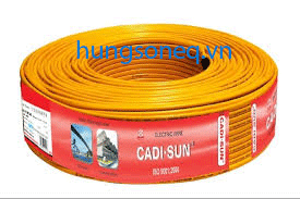 Dây điện Cadisun đôi mềm VCTFK 2x2.5 (100m/cuộn)