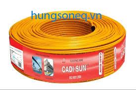 Dây điện Cadisun đôi mềm VCTFK 2x0.75 (200m/cuộn)