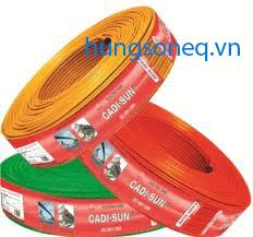 Dây điện Cadisun đơn mềm VCSF 1x10 (100m/cuộn)