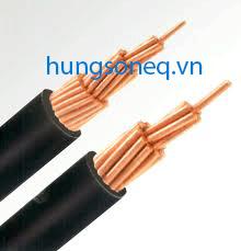 Cáp đồng treo 1x185 CU/PVC