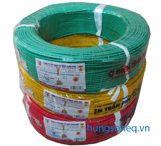 Dây điện đơn mềm Trần Phú 1x6,0