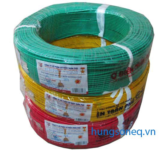 Dây điện đơn mềm Trần Phú 1x1,0