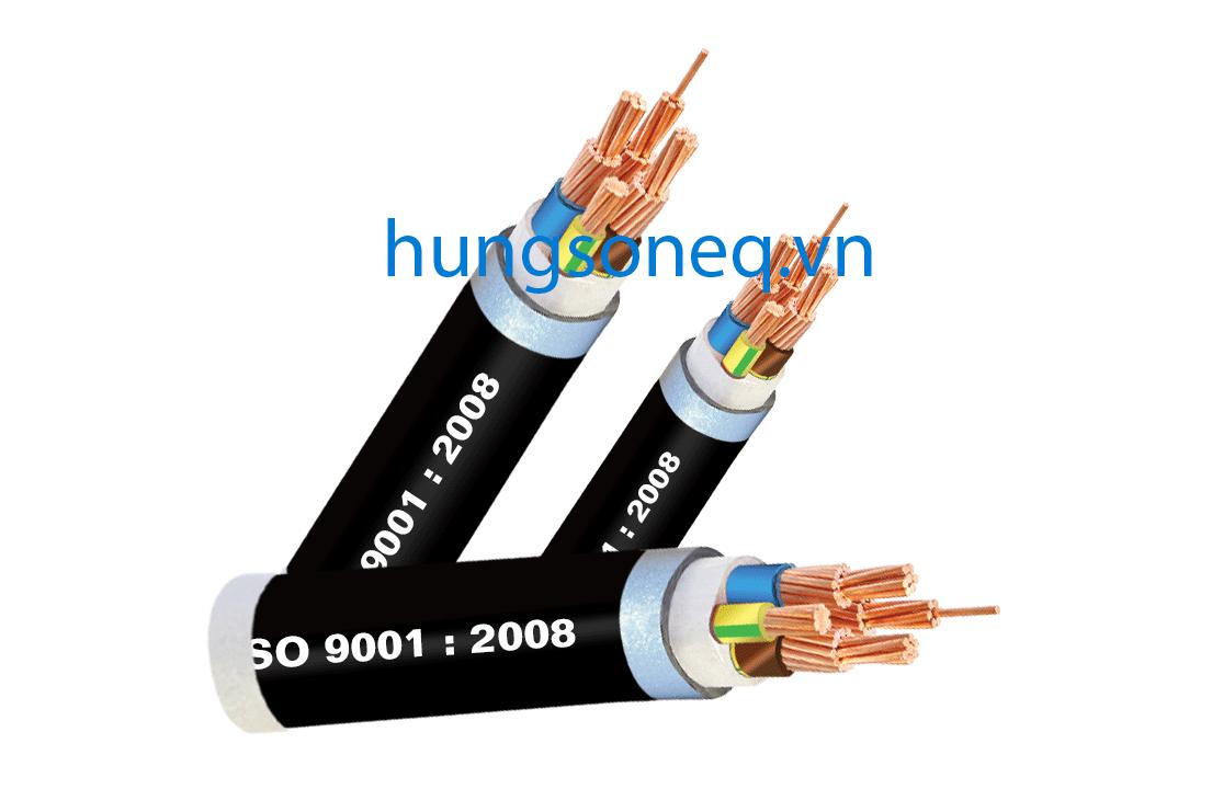 Dây cáp điện Cadisun, cáp đồng treo 3x50+1x25 CU/XLPE/PVC