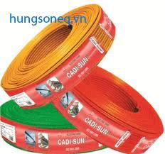Dây điện Cadisun đơn mềm VCSF 1x6.0 (100m/cuộn)