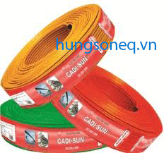 Dây điện Cadisun đơn mềm VCSF 1x0,5 (200m/cuộn)