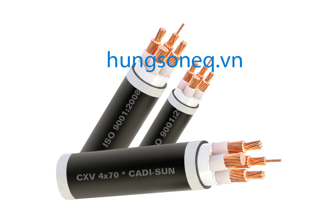 Dây cáp điện Cadisun, cáp đồng treo 4x2.5 CU/XLPE/PVC
