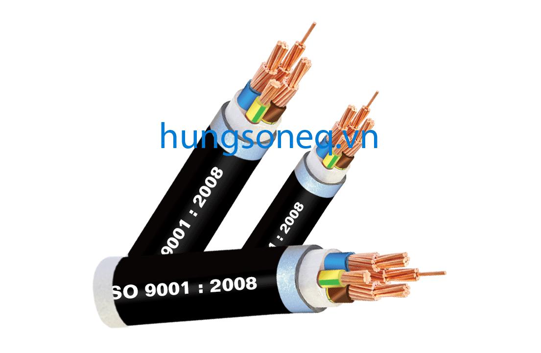 Dây cáp điện Cadisun, cáp đồng treo 3x300+1x150 CU/XLPE/PVC